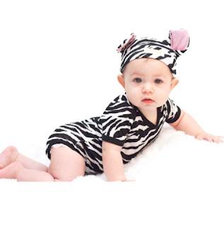 Contoh Baju Bayi Perempuan Lucu
