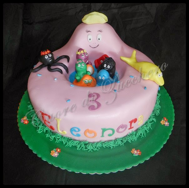 torta barbapapà