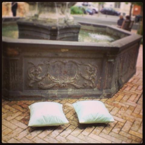 la Fontaine des Amoureux à Tours