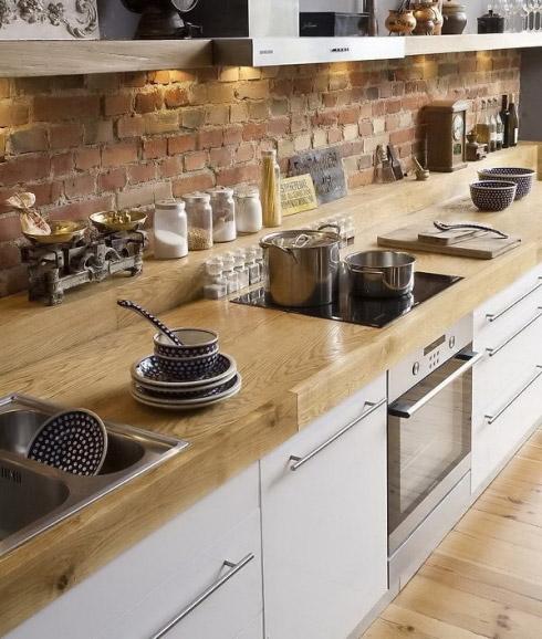Casual Casa Wooden Countertop