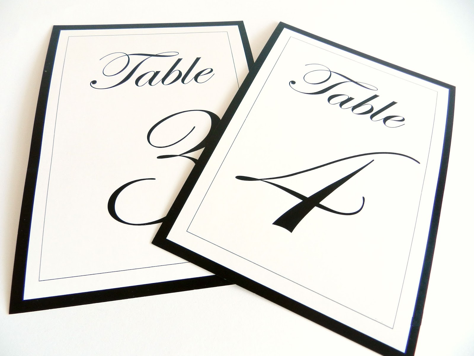 Etsy sale table numbers kraft envelopes and gift boxes for 4x6 table tent template