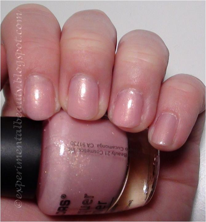 Cotton Candy Satin Fingernail Polish: Experimental Beauty: January 2012