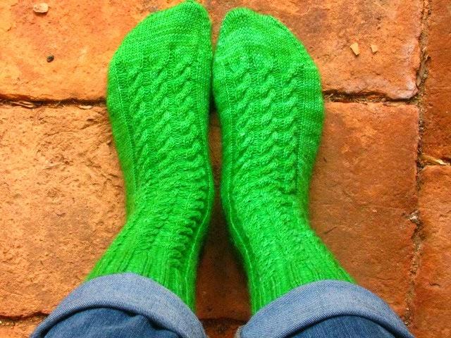 Garden Gate Socks