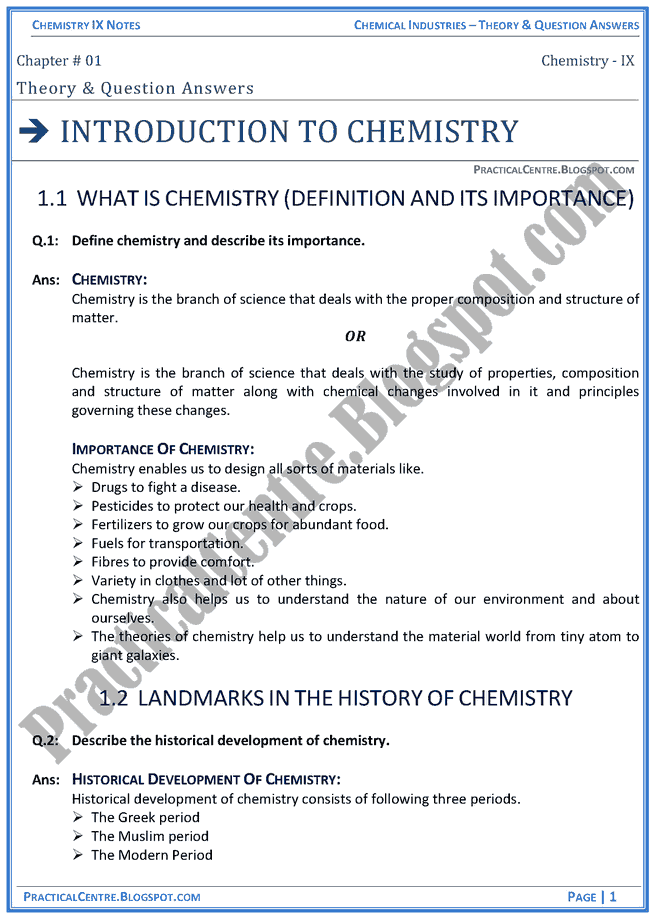 introduction to chemistry notes atomic structure Definition of atomic number and mass number atomic structure lesson plans status: introduction to chemistry lesson plans.