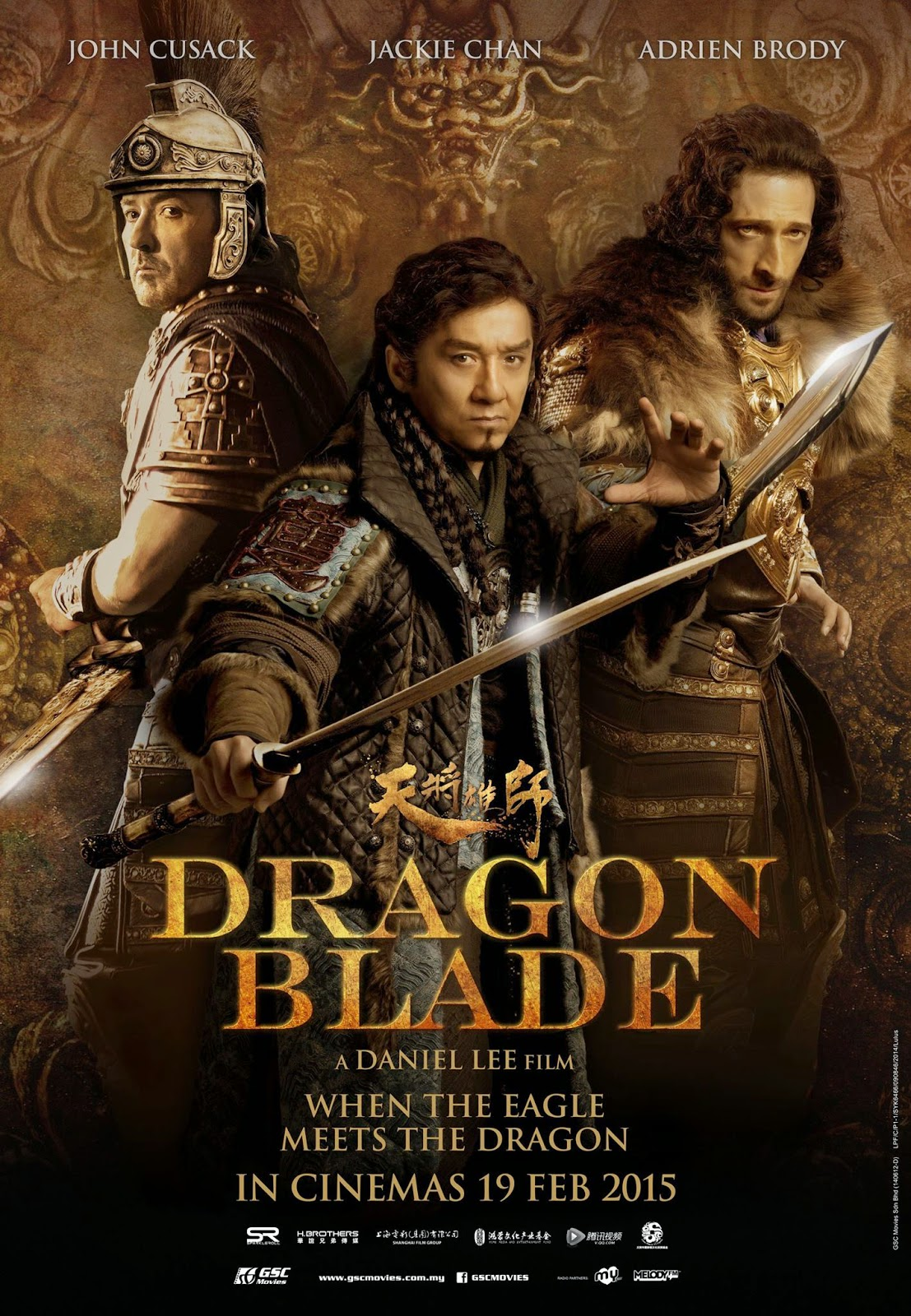 Dragon Blade (2015) Poster