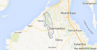 General Trias City, Cavite Map