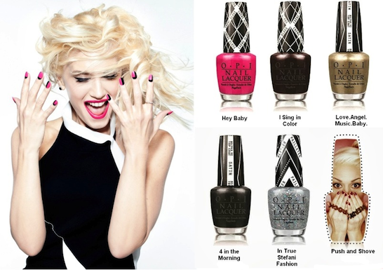 Gwen Stefani x OPI Behind The Scenes photo 3