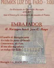 Mazagón Beach galardonado con el Premio Luz del Faro 2011