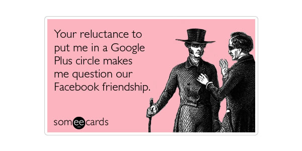 Google Plus Funny Images: Facebook Friendship