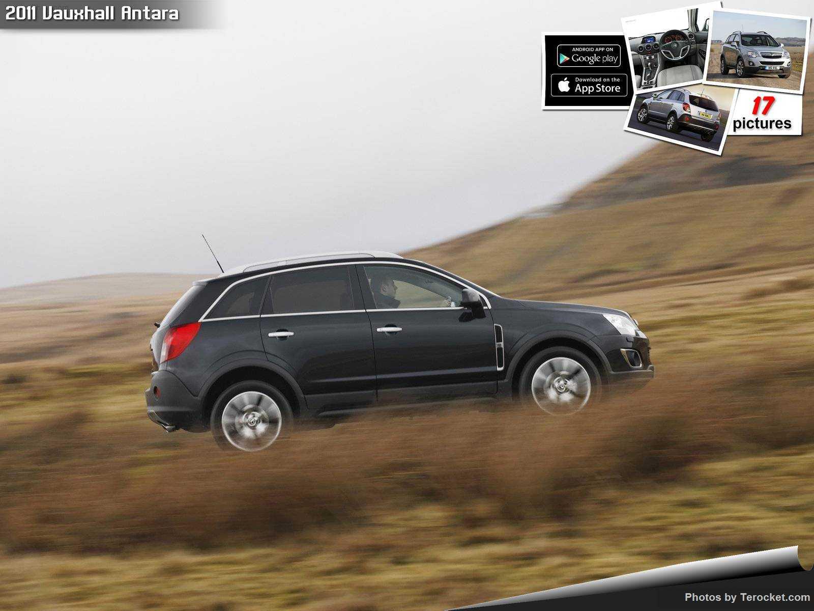 Hình ảnh xe ô tô Vauxhall Antara 2011 & nội ngoại thất