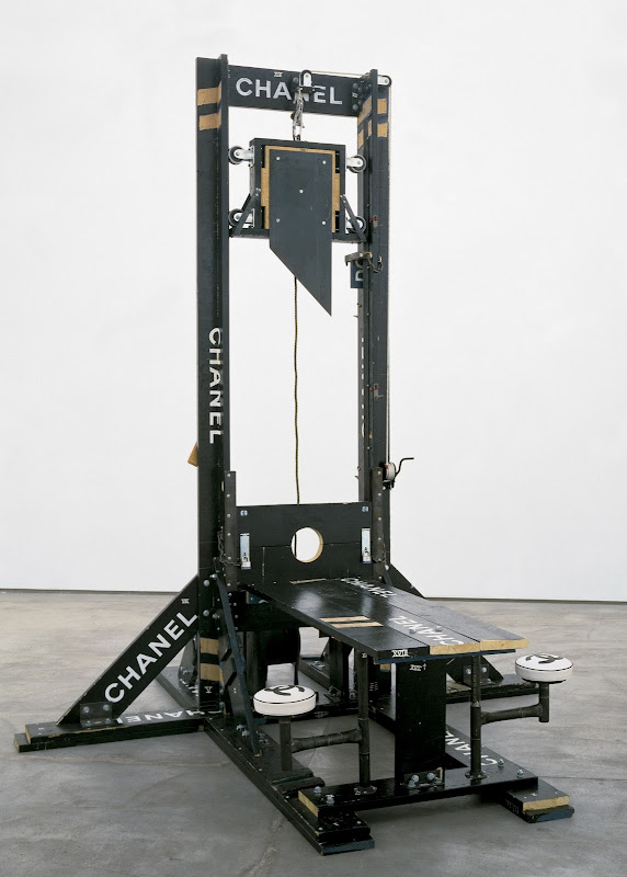 Chanel Guillotine by Tom Sachs