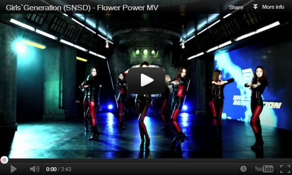 Lirik Lagu SNSD Flower Power dan Video