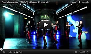 Lirik Lagu SNSD Flower Power dan Video