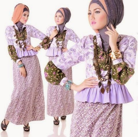 Contoh Baju Muslim Kebaya Remaja Terbaru