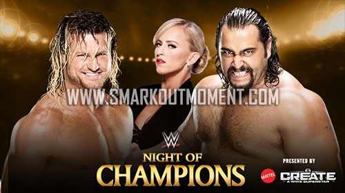 WWE Night of Champions Lana Ziggler Rusev Summer Rae match