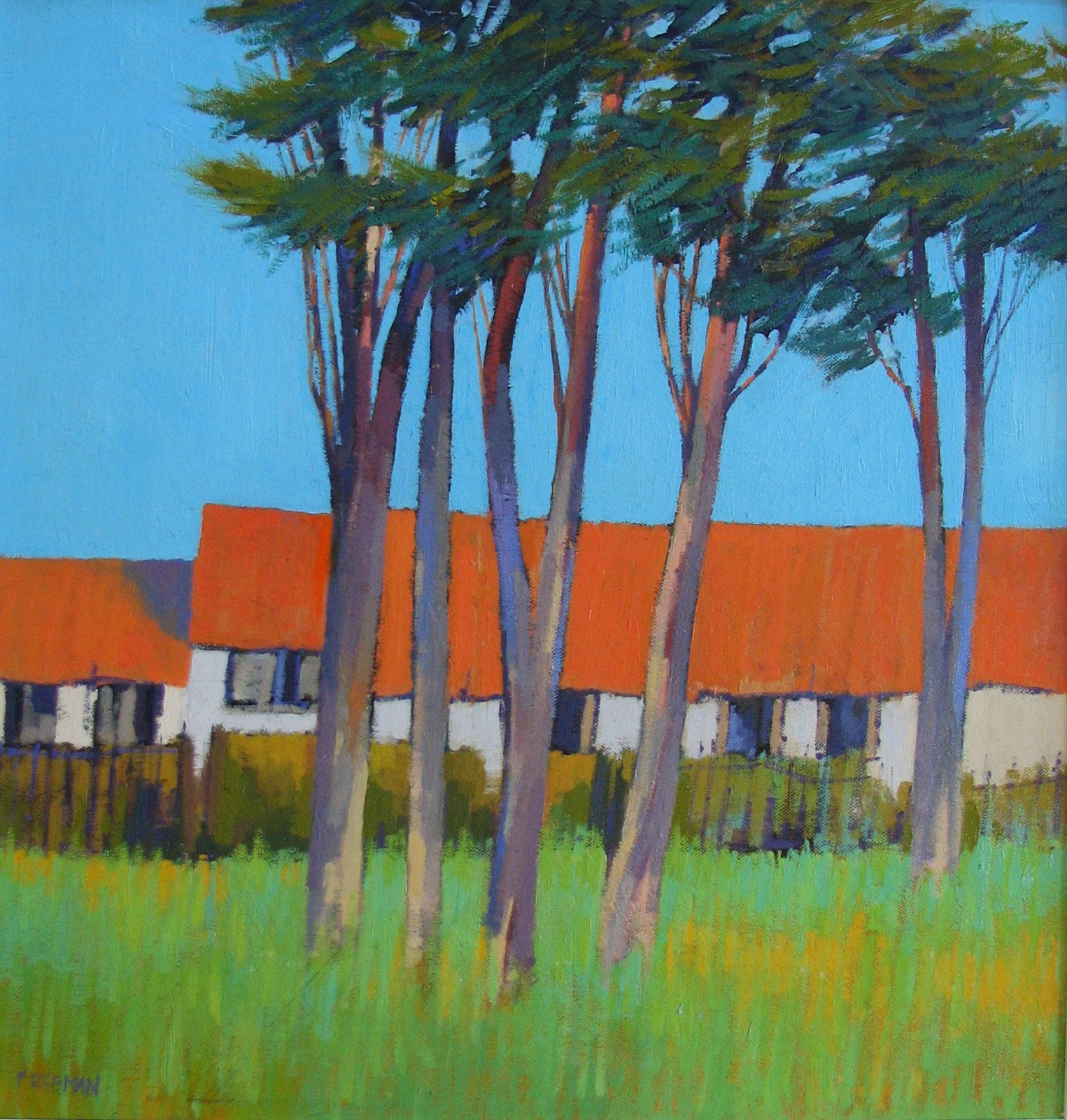 Open Exhibition 2014 highly commended Barry Freeman - The House of Madame Jublain oil on canvas
