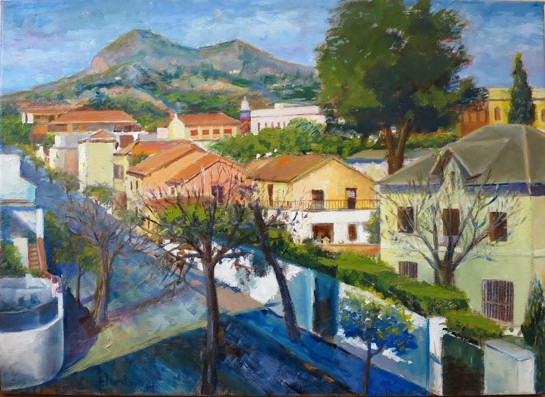 Pedregalejo desde la terraza de Conchita (8P)
