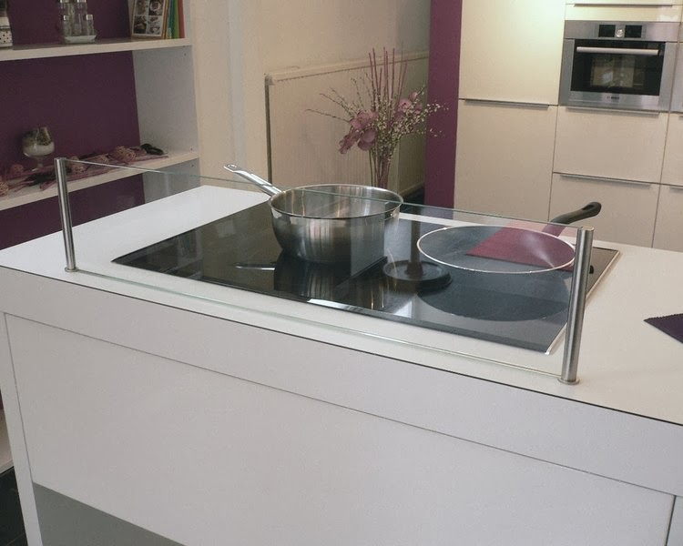 cristal protector salpicadura cocina