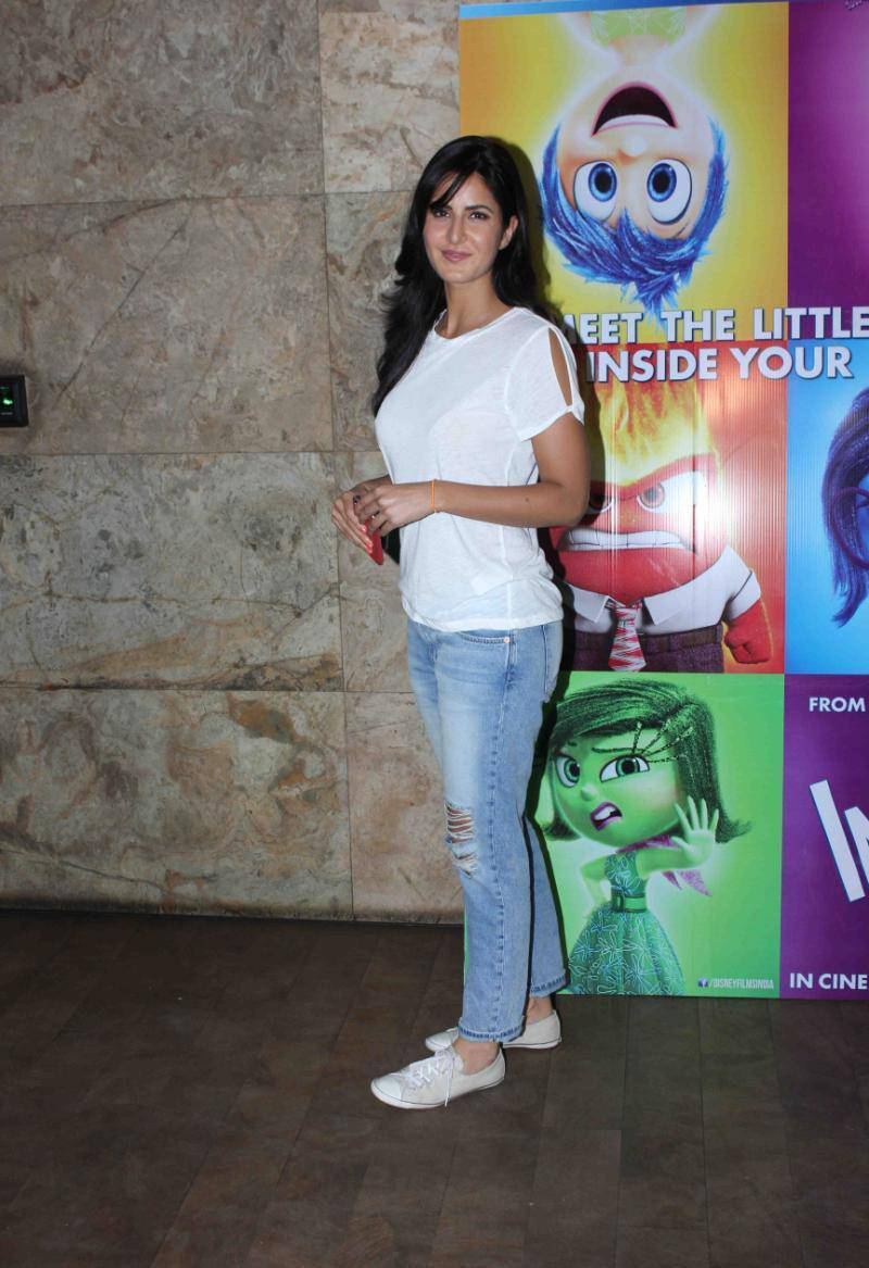 Katrina Kaif Latest Stills In Hot White Shirt