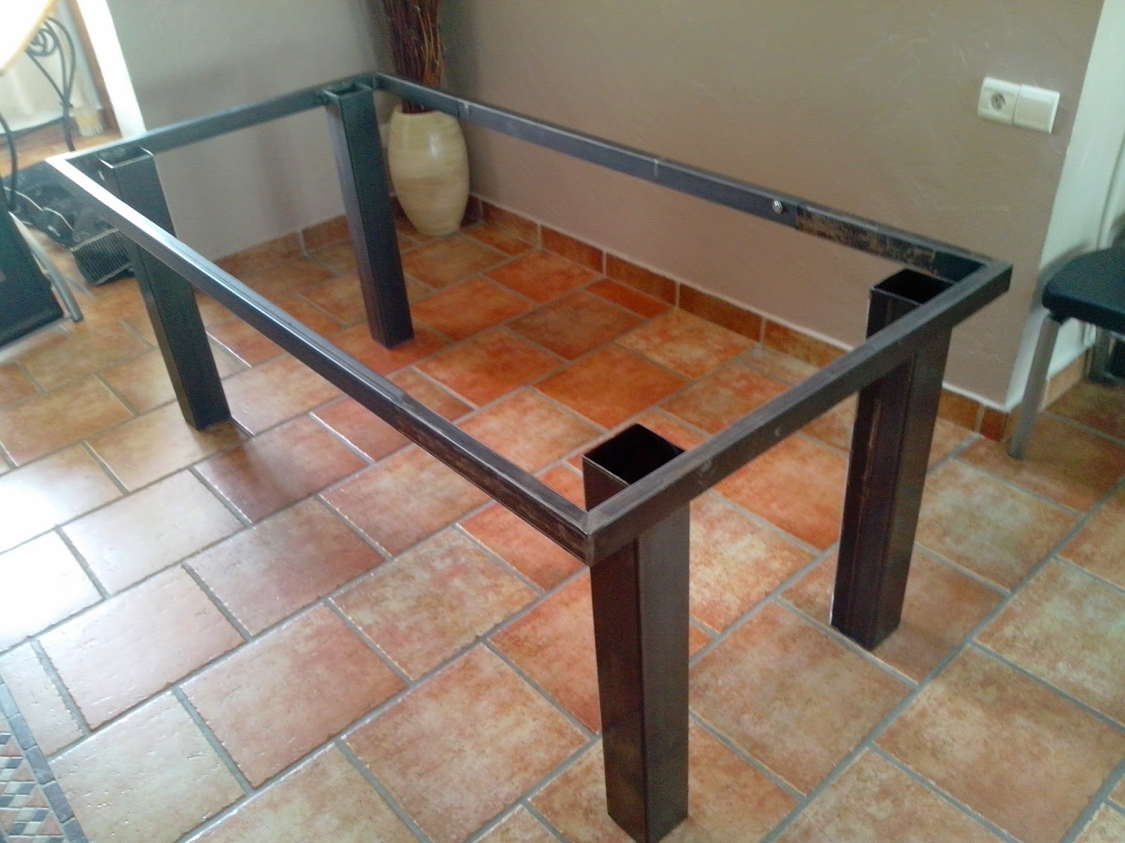 Faire Une Table Industrielle