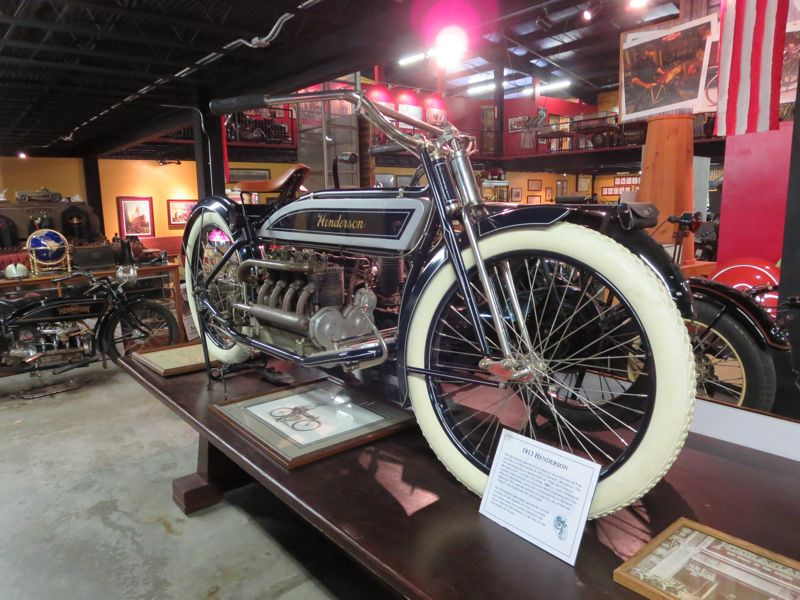 1913 Henderson Four Motorcycle