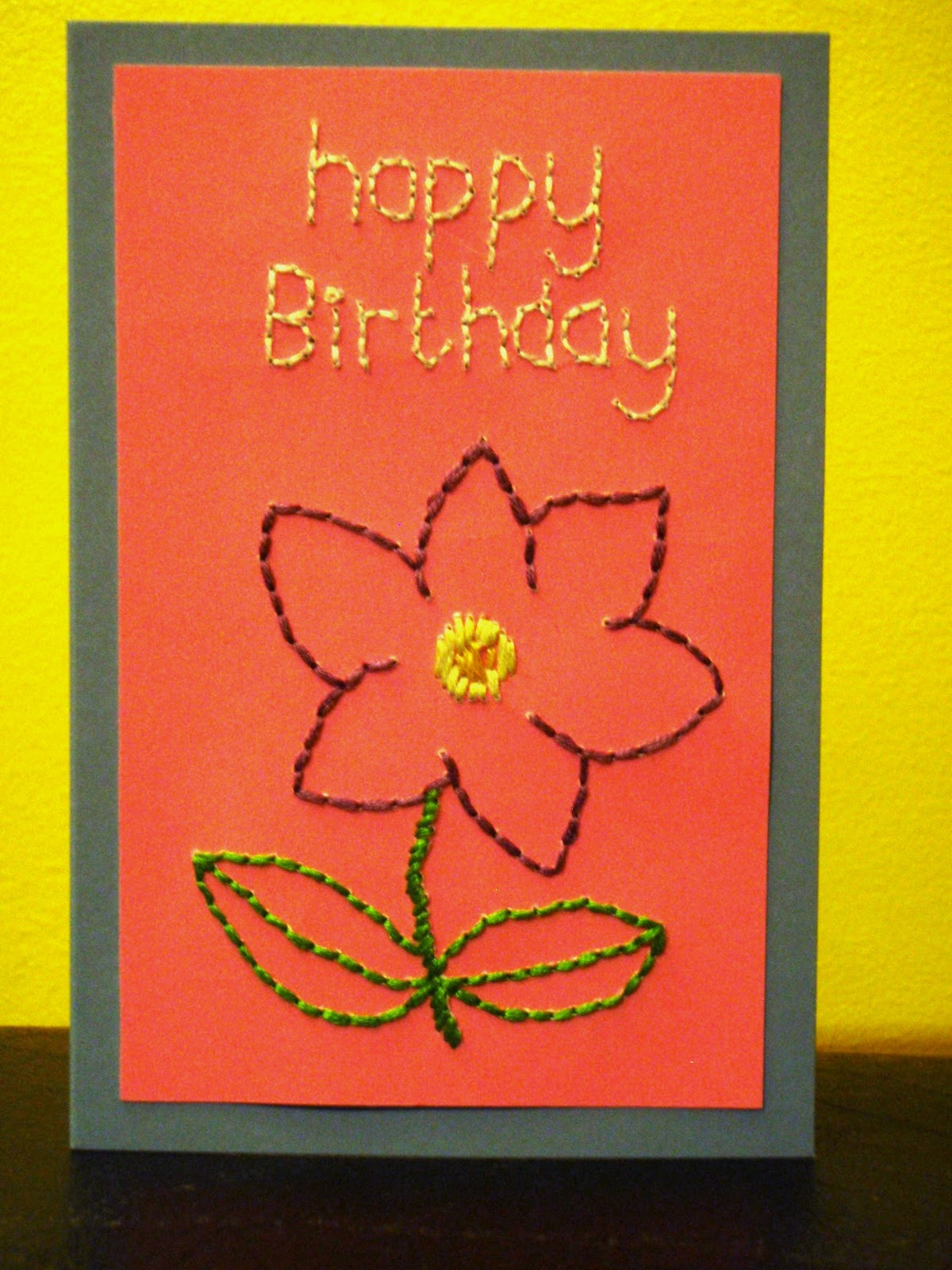 You sew should tutorial embroidered birthday card tutorial embroidered birthday card izmirmasajfo