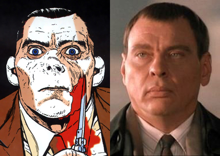 Imagen comparativa de Walter y el actor Larry Drake