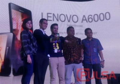 Lenovo A6000 Resmi Diluncurkan
