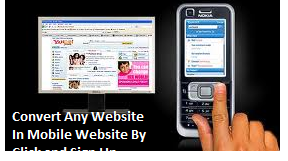 Convert Any Website In Mobile Site Free
