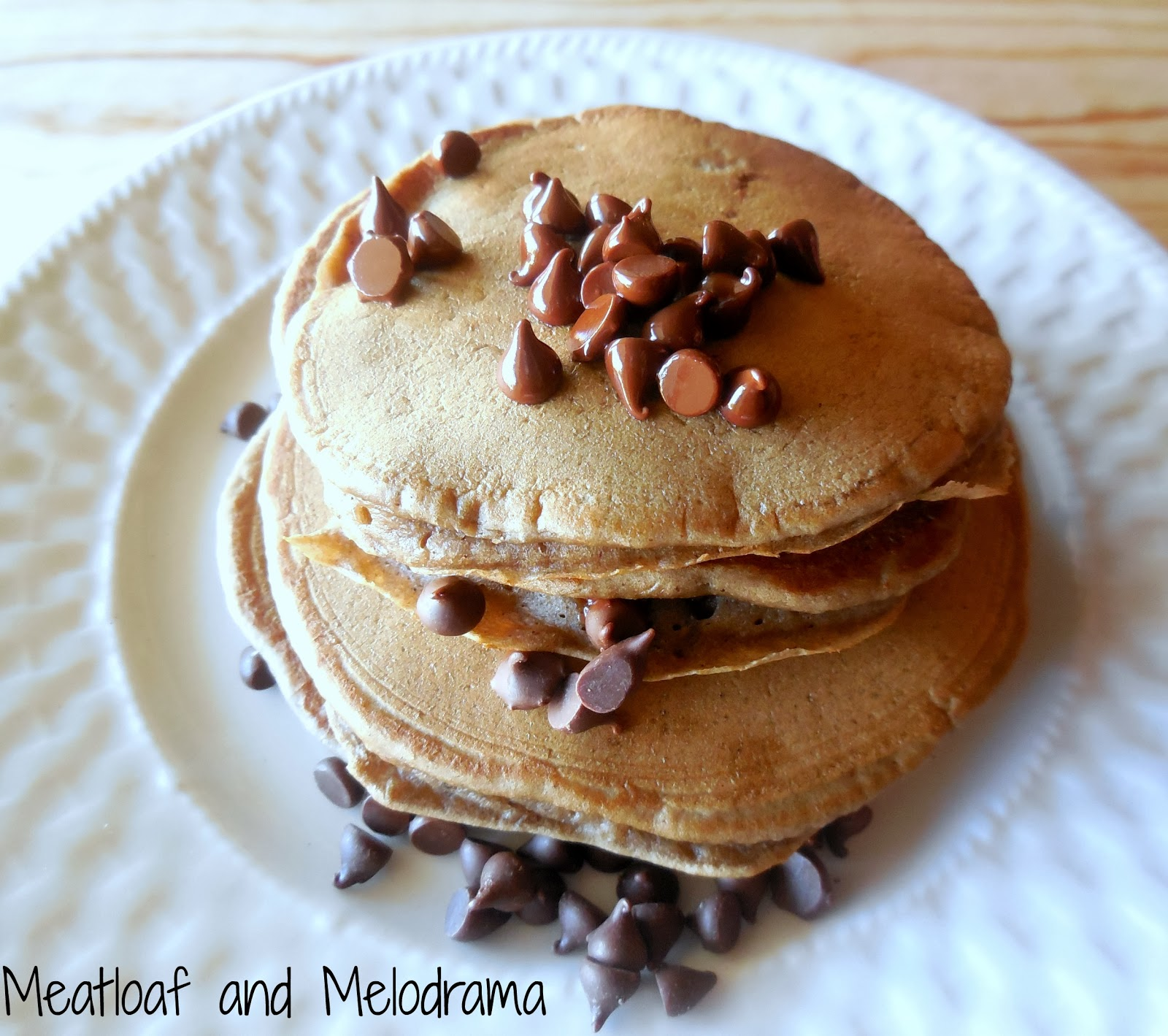 dark chocolate orange pancakes