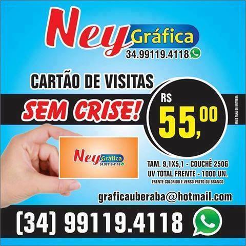 Cartão De Visita GRAFICA UBERABA