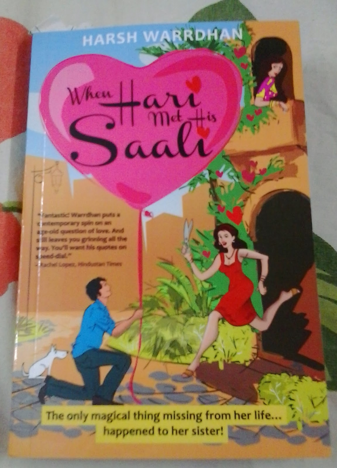 When Hari Met His Saali