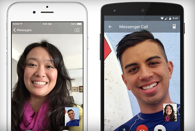 Facebook bổ sung tính năng gọi video cho ứng dụng Messenger