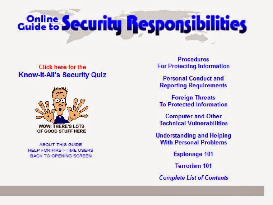 Free security awareness resource