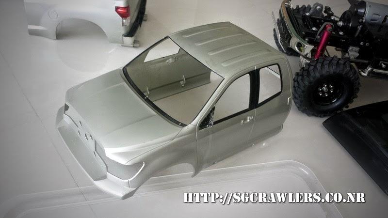 tamiya - Boolean21's Tamiya Highlift Tundra - new paint scheme - Ivan Stewart Toyota Theme 20140730_120205