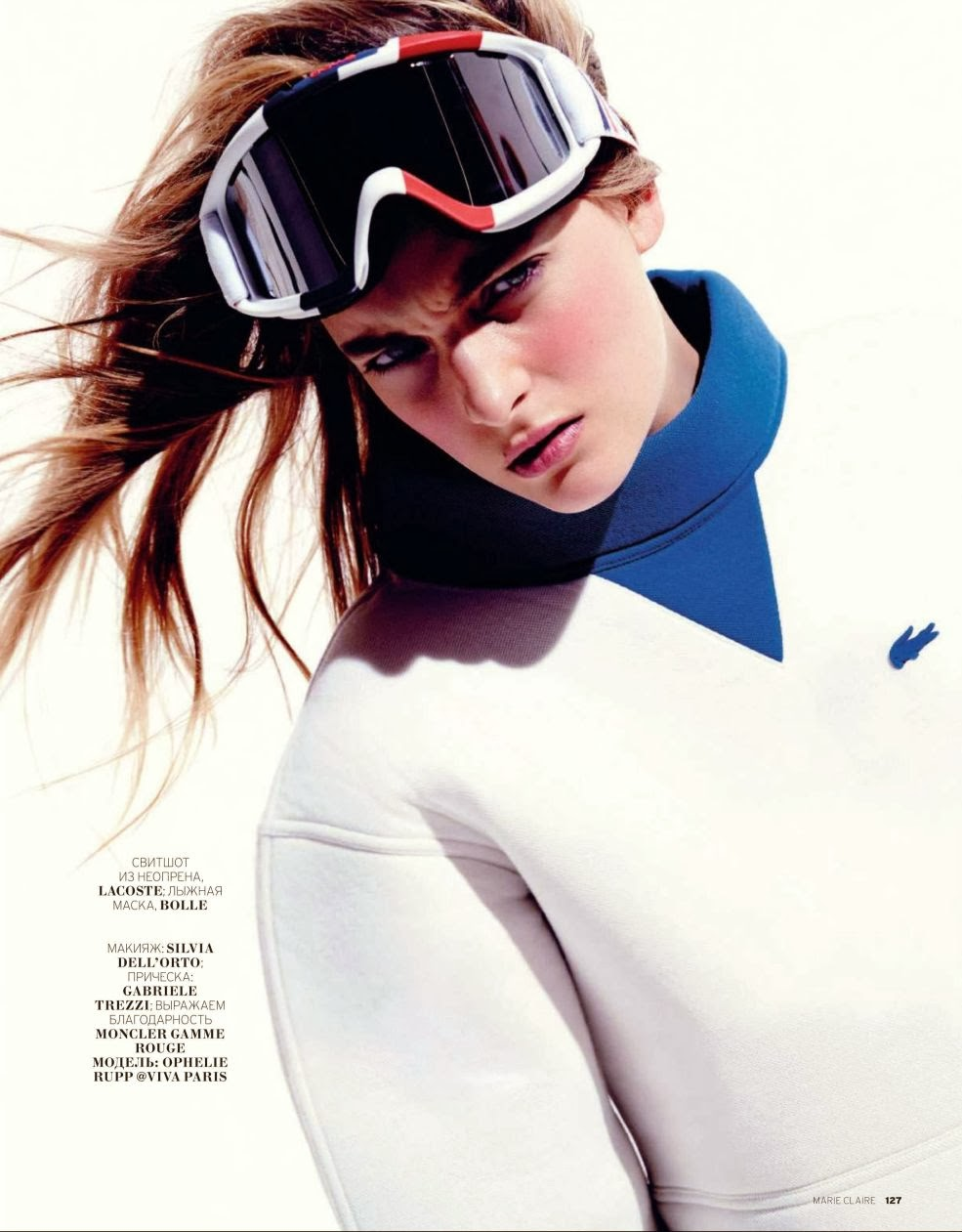 Ophelie Rupp HQ Pictures Marie Claire Russia Magazine Photoshoot February 2014