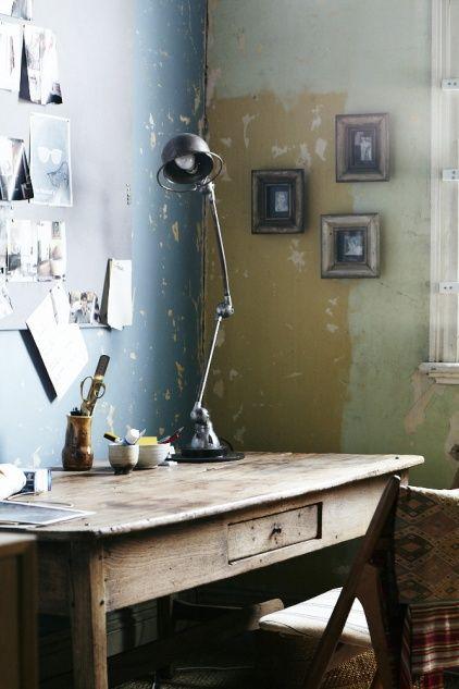 decoración vintage industrial