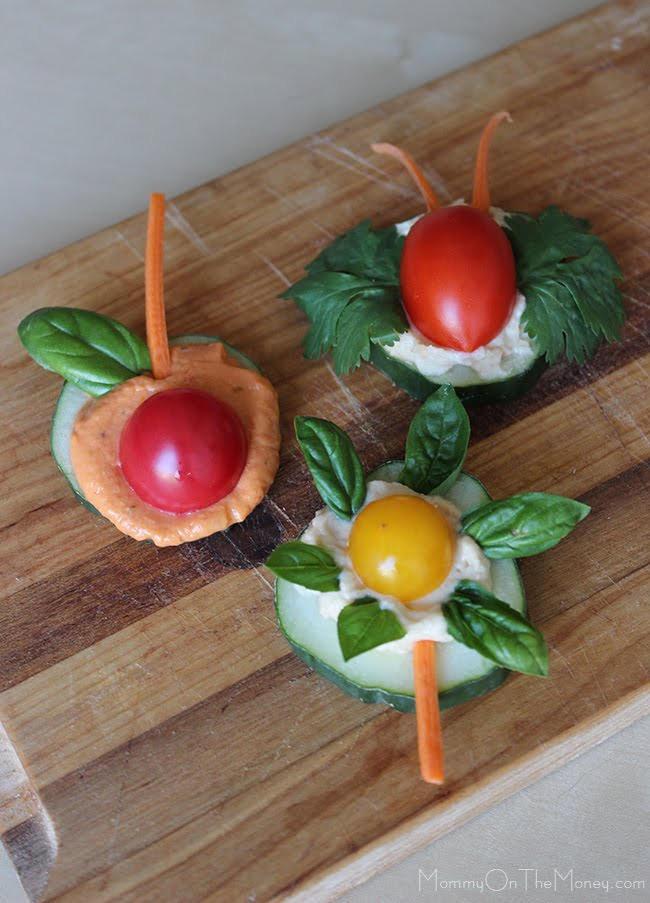 Cute Vegan Veggie Snacks