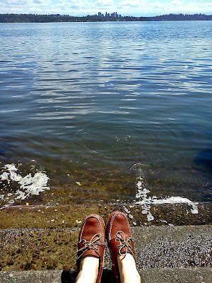 seattle, lake washington, bellevue, boat shoes, madrona