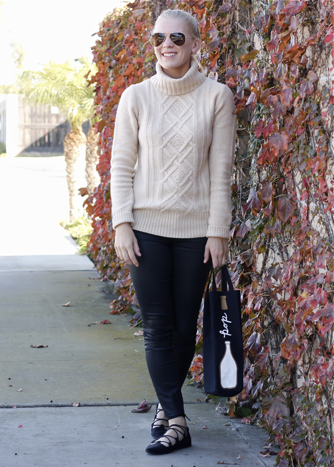 Shae Roderick, cambridge sweater, J.Crew, coated denim, OC blogger