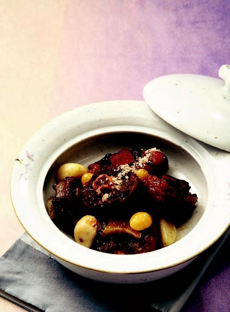 Cow's tail stew