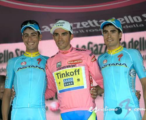 Podio Giro 2015