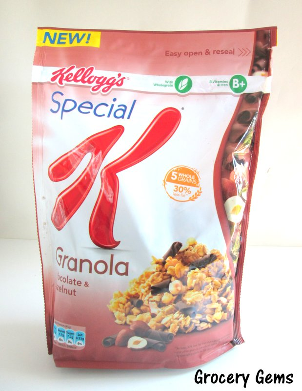 Kellogg S Special K Granola Chocolate Hazelnut
