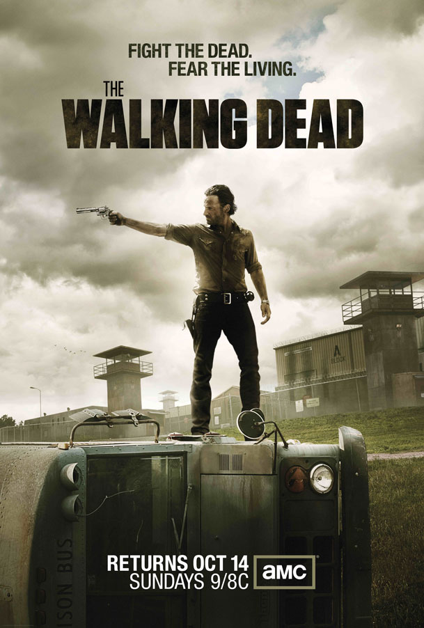 Andrew Lincoln en el nuevo poster de The Walking Dead