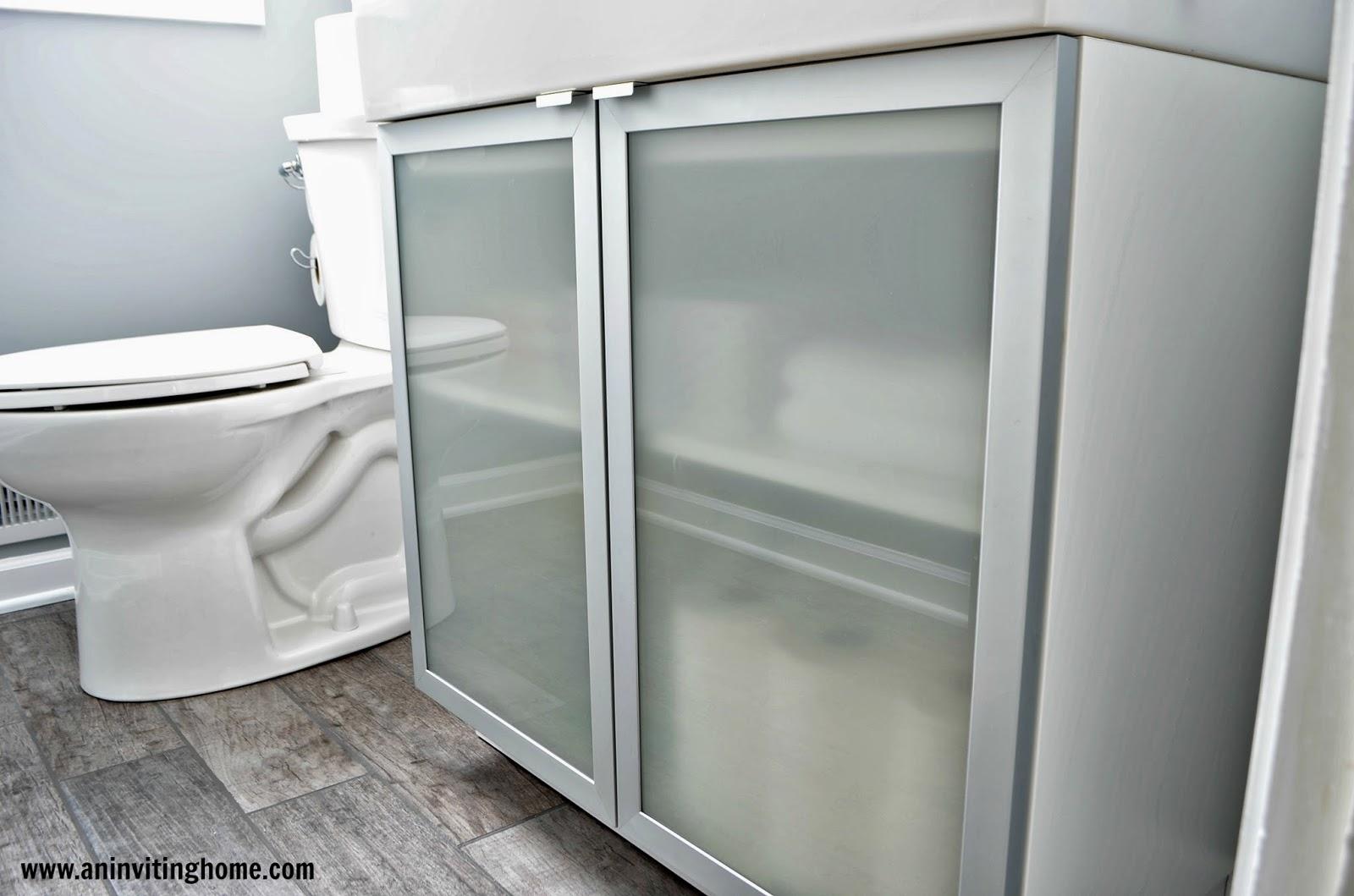 IKEA Lillangen cabinet and sink. Ikea Bathroom Hooks
