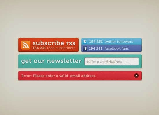 Subscription Counters PSD