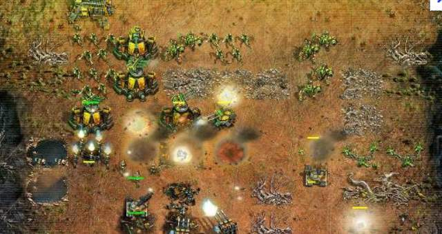 Command and Conquer battle