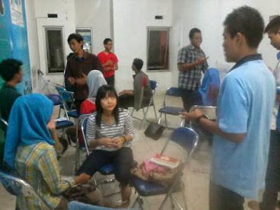 Suasana kelas dari SBS Malang