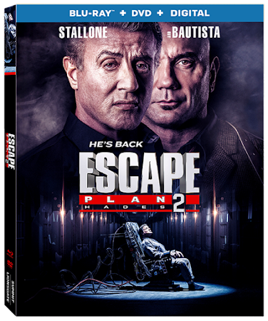 Poster Of Escape Plan 2: Hades 2018 In Hindi Bluray 720P Free Download