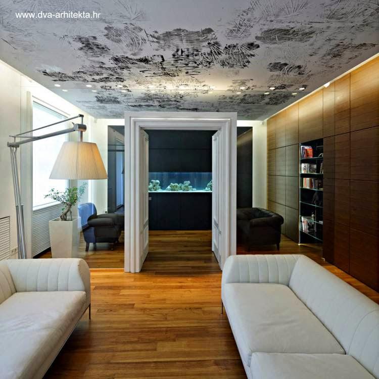 Arquitectura de casas techos y techados de casas for Cielorrasos modernos ver fotos